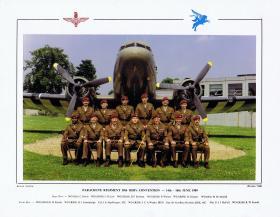 Parachute Regiment 38th RSM's Convention,  14-16 June 1989.