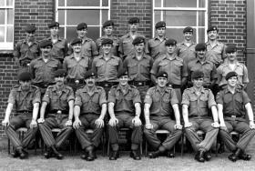 2 Platoon, A Company, 2 PARA, Ballykinler, 1979.