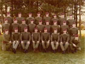 No 2 Platoon A Company 2 PARA early 1980s