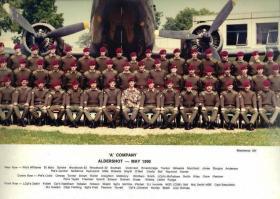 2 Platoon, A Company, 1 PARA, Aldershot, May 1991.
