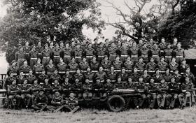 Group photo of 2 SAS, Italy Detachment, September 1945.