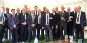 Members of A Company, 2 PARA Falkland Veterans, Aldershot, 2012.