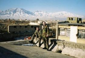 Ptes 'Ross' Phillipson and Webster, Afghanistan, 2002.