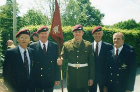 """""""The Old and The New"""" - 6 Guards Platoon Passing Out Parade, Pirbright, 2001"""
