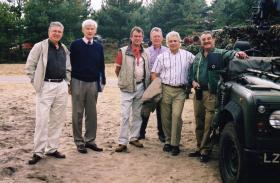 Guards Parachute Association Visit to Guards 6 Pl on Hankley Common 2002
