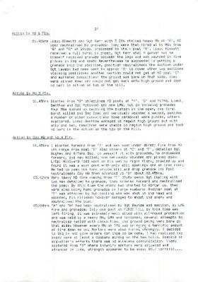 War Diary, 1st Parachute Squadron RE. November, 1942.