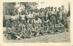 A group shot of members of 9 Field Company RE.