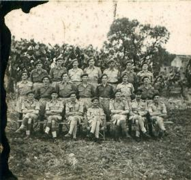A group shot of 2nd Independent Parachute Brigade HQ.