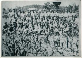 Sixty men who took part in Operation Hasty.