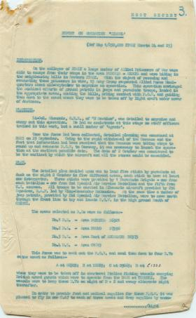 Detailed report of Operation Simcol.
