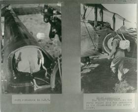 Early Italian parachuting experiments.