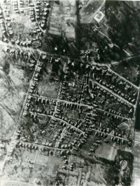 Aerial view of Oosterbeek.