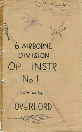 6 Airborne Division operation instructions no. 1, part 1.