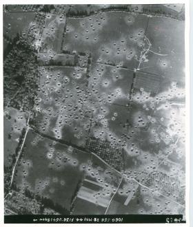 Aerial photos of Merville Battery.