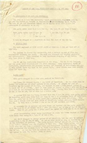 Record of 224 Parachute Field Ambulance, 5-14 June 1944.