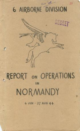 6th Airborne Division Report on Operation Overlord, part 1.
