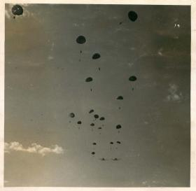 The drop at Megara, Greece, 1944