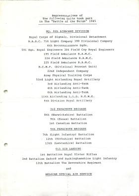 List of units that took part in the Battle of the Bulge.