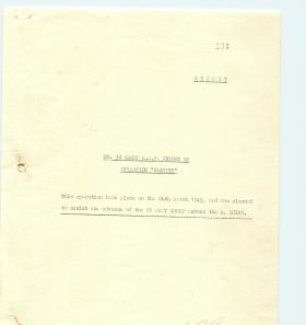 No. 38 Group RAF report on Operation Varsity. Part 1.