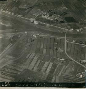 Aerial photo of Rhine Crossing area.