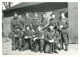 2 Section, 4 Platoon, B Company, 1st Canadian Parachute Battalion