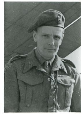 Brigadier James Hill, commander of 3rd Parachute Brigade during the Rhine Crossing.