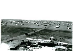 3 PARA at Shandur camp near Fayid, Canal Zone 1951.