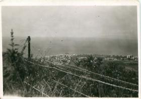 View of Haifa taken from 6th Airborne Division Signals HQ.
