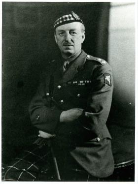 Lt-Col Payton DSO, OC of 7th KOSB 1943-45.