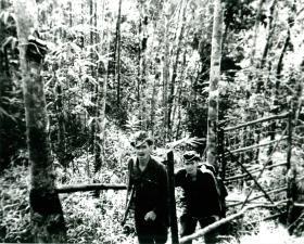 2 PARA soldiers in Borneo.