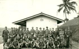 Group photo of Malaya JWS, 1968.