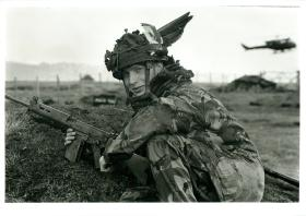L/Cpl Ginge Moore, 2 Tp, 9 Para Squadron RE.