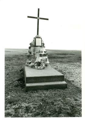 Memorial at Goose Green.