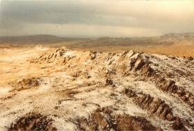 View of Mount Longdon.