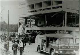 IRA bombing of HQ 16 Parachute Brigade Officers' Mess at Aldershot, 1972.