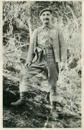 Colonel George Grivas, leader of EOKA.