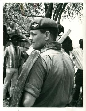 Riot training, Anguilla 1969.