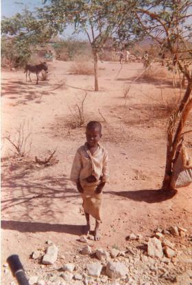 Local Rwandan child.