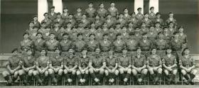 Group photo of Independent Parachute Squadron in Malaya, 1956.