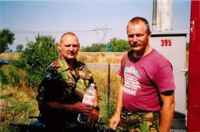 2 PARA main base, Macedonia, September 2001.