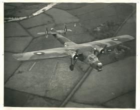 Bristol Bombay in flight.