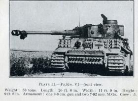 German Tiger Tank knocked out in Tunisia