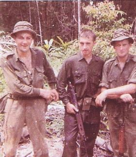 No 1 (Guards) Independent Parachute Company LZ Clearing Borneo, c.1965