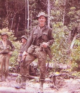 LZ Clearing Borneo with No 1 (Guards) Independent Parachute Company, c.1965