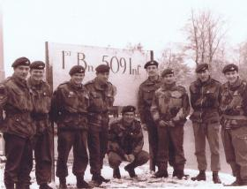 Troop from No 1 (Guards) Independent Parachute Company on American Exchange in Germany, c.1960s