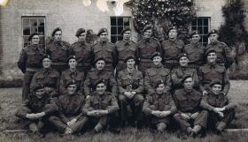 HQ Section 1 Airborne Div Pro Coy, Stubton c June 1944