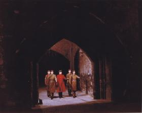 1 PARA on duty at the Tower of London, 1969