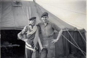 Two men of D Company 11th Parachute Battalion, 1955
