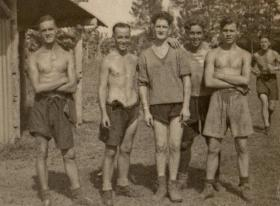 Men of 7th Parachute Battalion in Semerang, Java, 1946