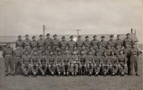 Group photo of Sergeants' Mess, 11th Parachute Battalion, 1955